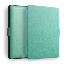 ZOYU Ultra slim thin magnetic case cover for All-New Kindle ( 20103 2015 2016) PU leather cover case Paperwhite(China)