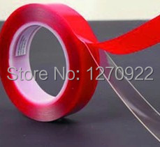 (HK post free!) (0.8mm Thick) 10mm Double Sided Transparent Acrylic AdheisveTape for Car Automobile Truck Glass, Metal, Panel<br>