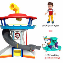 Patrulla Canina Juguetes Canine Patrol Dog Big Toys Russia Anime Doll Action Figures Car park Patrol Puppy Toy Gift Everest Dog