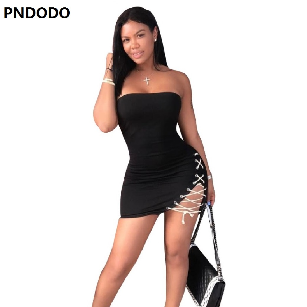 Women Summer T Shirt Dress Beach Party Bodycon Dresses Off Shoulder Backless Vestido Mujer Femme Hollow Out Night Club Dress NEW