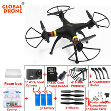 Global Drone GW180 RC Drone professional quadrocopter with camera hd drons rc helicopter with FPV WIFI CAMERA vs syma x8hc x8hw