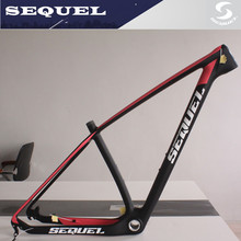 carbon mtb bike MQ04  SEQUEL carbon mountain bike frame 27er /29er UD BSA/BB30 bicicleta mountain bike mtb carbon frame