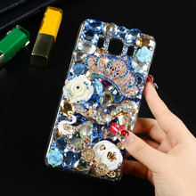 Buy 5.5 inch DIY Crown Peacock Rhinestone Bling Diamond 3D Crystal Hard PC Back Cover Case Funda Coque Samsung Galaxy J7 2016 for $3.74 in AliExpress store
