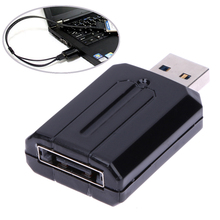 "USB 3.0 to ESATA External SATA 5Gbps Bridge Convertor Adapter for Laptop 2.5"" 3.5"" HDD For Windows 7/Mac os 9.2 or latest(China)"