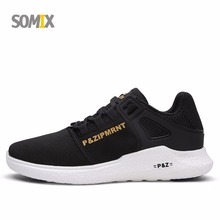 2017 New SOMIX Breathable Sport Shoes Men Mesh Light Running Shoes Lifestyle Stability Sneakers Women Comfortable Walking Shoes