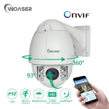 WOASER 4.0MP High Speed Dome IP Camera 10xOptical Zoom 4Megapixels IR distance up to 50 meters IP66 rate protection PTZ Camera(China)