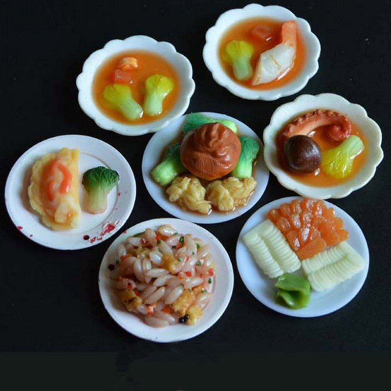 33Pcs-16-Scale-Dollhouse-Miniature-Plastic-Dishes-Set-Model-Pretend-Play-Mini-Food-Doll-Accessories-Fit-Toy-TY0249 (3)