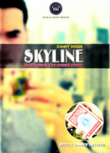 Skyline (Gimmick & DVD) by Danny Weiser/ Close-up stage street bar comedy magic(China)