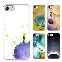 The Little Prince and the Fox Clear Cell Phone Case Cover for Apple iPhone 4 4s 5 5s SE 5c 6 6s 7 Plus
