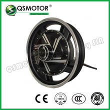 16inch 2000W 273 28H V2 48V Brushless DC Electric Scooter Motorcycle Hub Motor QS In Wheel Electric Hub Motor