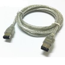 IEEE 1394 FIREWIRE 6PIN to 6 PIN iLINK CABLE For PC MAC DV 5FT 1.5M 150CM
