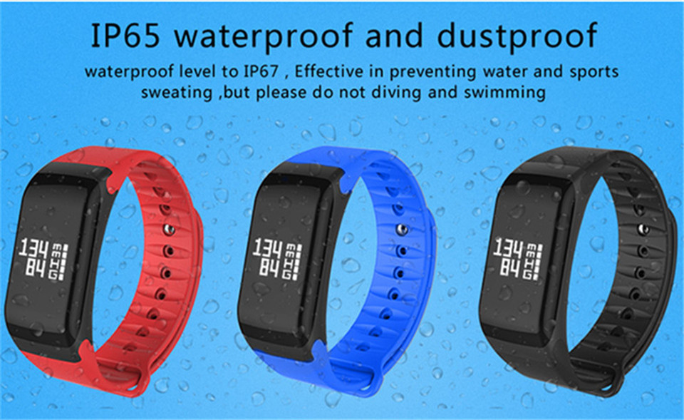 LETIKE Blood Pressure Smart Bracelet Sport Pedometer Fitness Tracker Wrist Smartband Pulse Measure Waterproof For IOS Android 14