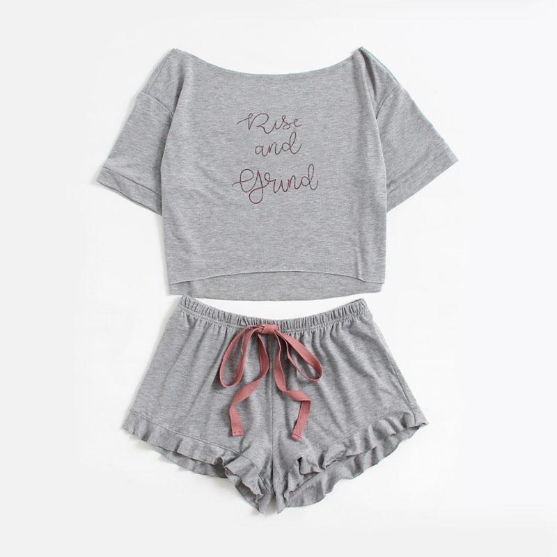 Pyjama t-shirt et short