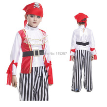 Shanghai Story Children's Classic Halloween Costumes Boy Pirate Cosplay Costume Pirate Costume Sparrow Carnival Costume For Kids