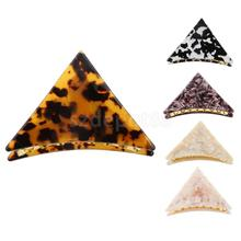 9cm Fashion Women Girls Simple Triangle Hair Claw Hair Clip Hair Accessories Hair Jewellery(China)