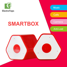 ET Mini Stereo Wireless Speaker With Camera Control bulit-in micphone handsfree Smallest Portable boombox woofer speakers