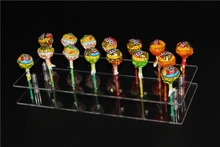 Detachable Acrylic Lollipop Stand Holder Cake Pop Display Rack Clear Color