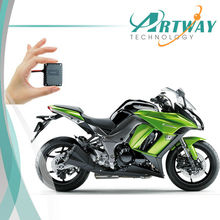Small GPS Tracker T0024 Waterproof mini GPS tracker motorcycle with free GPS tracking software(China)