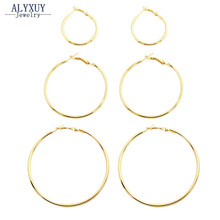 New fashion jewelry huge hoop earring set 1lot=3pairs gift for women girl E3314(China)