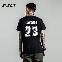 Tee shirts men new brand-clothing zhan huang chinese letters Lebron James No.6 basketbal t shirts jersey,tx2368