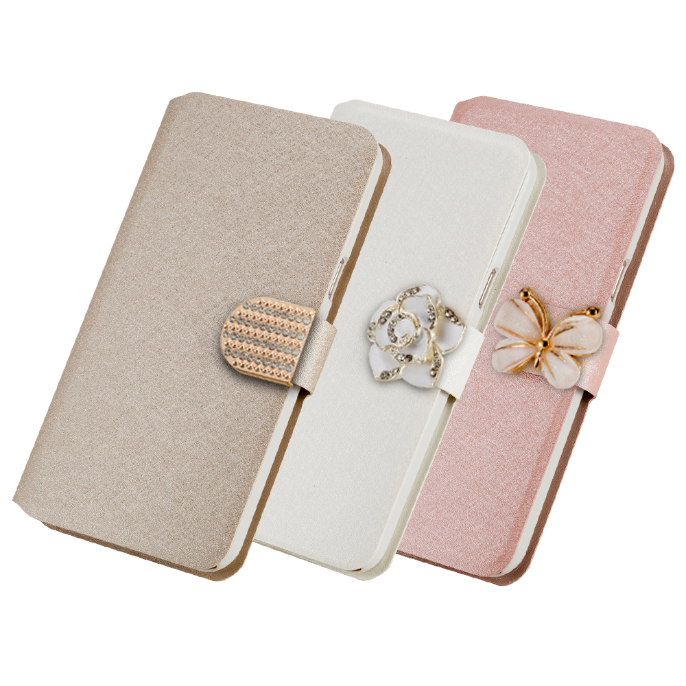 Lots style For Samsung Galaxy S3 III i9300 mobile phone case new luxury flip cover with three kinds of diamond buckle(China (Mainland))