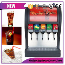 110V/220V table top juice fountain dispenser post mix cola mixing machine(China)