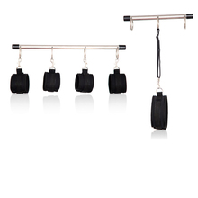 Buy Spreader Bar Hand Cuffs Wrist & Ankle Cuffs Neck Collars Restraint Bdsm Bondage Set Slave Fetish Sex Toy Couples Adult Games