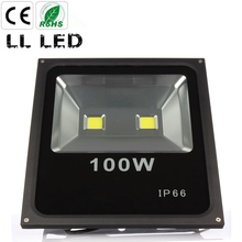 1pcs 100W Led Flood light Waterproof Led IP65 Floodlight AC85-265V Outdoor lighting garden Spot football field lighting(China)
