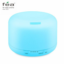 FEA Essential Oil Diffuser Air Humidifier Aroma Lamp Aromatherapy Electric Ultrasonic Aroma Diffuser Mist Maker 7 Colors LED(China)