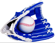 "Professional Baseball Glove Outdoor Sports Baseball Team Exercise Training 10.5"" Baseball Glove Blue Left Hand Softball Gloves(China)"