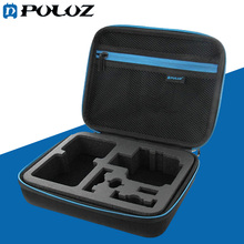 PULUZ for Go Pro Accessories Waterproof Carrying Travel Case portable bag for  GoPro HERO5 HERO4 Session HERO 5 4 3+ SJ4000
