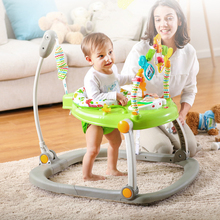 Musicl Baby Jumper Rainforest Jumperoo Baby Learning Walker Stand Jumper Activity Center Baby Swing(China)