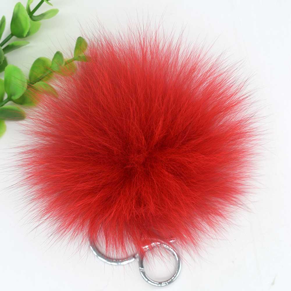 small fox fur pompom 15