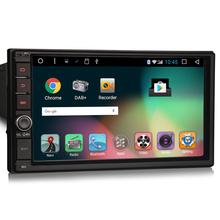 "7"" 2GB RAM Android 6.0 OS 1 Din Car Navigation GPS Single Din Car Multimedia Player One Din Car Radio with 1024*600 Resolution(China)"