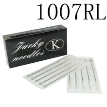 100PCS Professional Tattoo Needles 7RL Disposable Sterilze 7 Round Liner Tattoo Needles For Tattoo Body Art Supply Free Shipping(China)