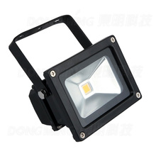 HOT PRODUCT 100pcs 10 watt led flood light suppliers outdoor white IP65 900LM RGB 10w led security flood light 12VDC(China)