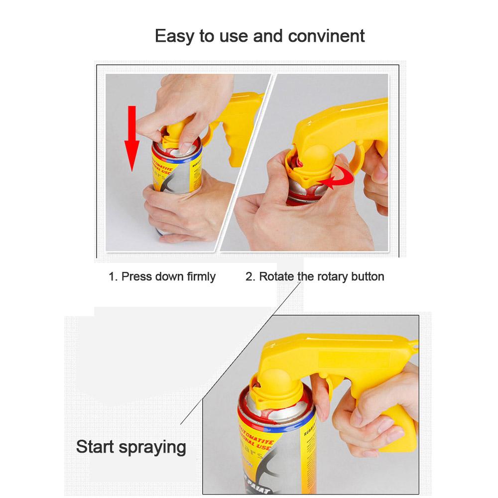 Spray can grip