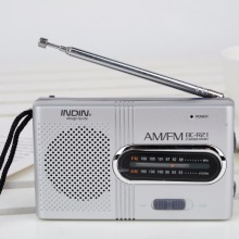 Hot Sales BC-R21 AM/FM Radio Mini Portable Telescopic Antenna Radio Pocket World Receiver Speaker Mayitr(Hong Kong)