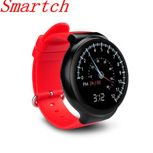 Smartch Smart Watch I4 Waterproof Full Circular AMOLED Screen Support WiFi Video GPS MIC SIM Heart Rate Monitor Alarm Clock For