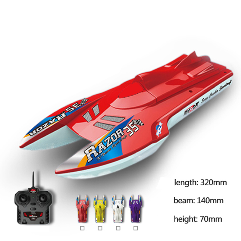 Free shipping DIY  Remote control ship Electric ship Model Yacht Handmade boat Toy speedboat children Gift Education model<br><br>Aliexpress