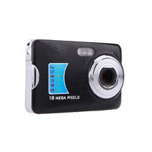 New High Quality 18 Mega pixels HD Mini Digital Camera 18MP 8x Zoom Smile Capture Anti-shake Video Camcorder