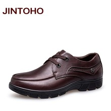JINTOHO Big Size 37-50 Mens Dress Italian Leather Shoes Luxury Brand Formal Male Shoes Glitter Business Men Mocassins Shoes(China)