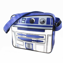 Star Wars R2-D2 R2 D2 Handbags Shoulder Small bag Messenger Bags Captain America Spider Man/ Thor/Superman/flash Shoulder Bags