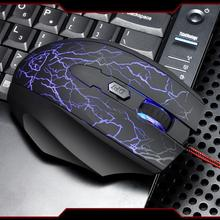 High Speed Optical 4000 DPI Wired Professional Gaming Mouse for Laptop PC Desktop Computer