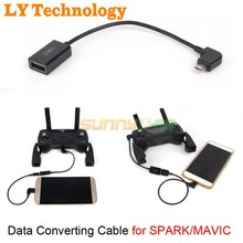 Data Converting Line Data Cable  Remote Controller  Converting cable for DJI SPARK & MAVIC PRO Drone Parts