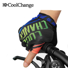 COOLCHANGE Specialized Cycling Gloves Men Mountain Bike Gloves Half Finger Bicycle Sports Shockproof Short Finger Gloves