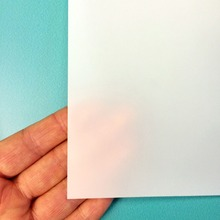100PCS A3 LED Light Pocket Inkjet Printer Paper,a3 light box films