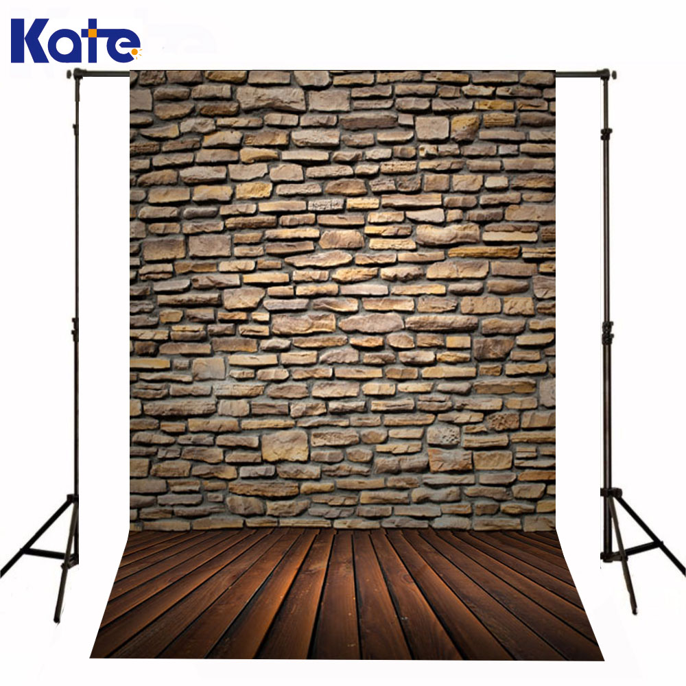 Kate Newborn Baby Backdrop Photography Brown Wood Brick Wall Fond De Studio De Adults Use Fundo Fotografico Natal<br>