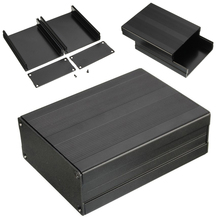 Black Extruded Aluminum Enclosures PCB Instrument Electronic Project Box Case 100x76x35mm(China)