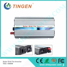 Pure Sine Wave DC 12V 16V 18V 24V Solar On Grid Tie Inverter 1000W